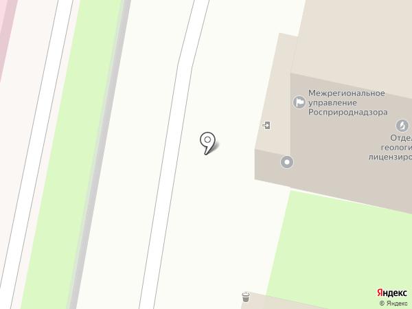 Управление Министерства культуры Российской Федерации по Приволжскому федеральному округу на карте Пензы