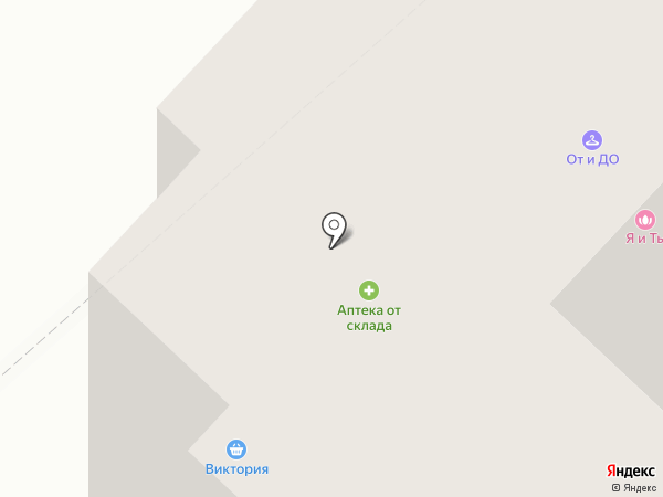 Фунтик на карте Пензы