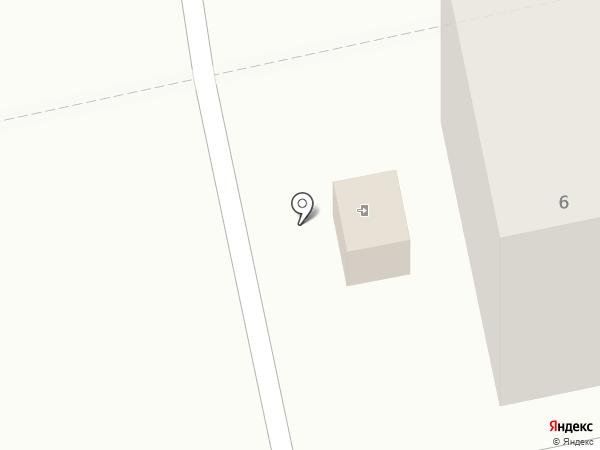 Иголочки на карте Пензы