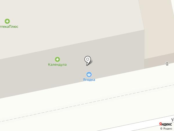 Универсальный магазин на карте Пензы