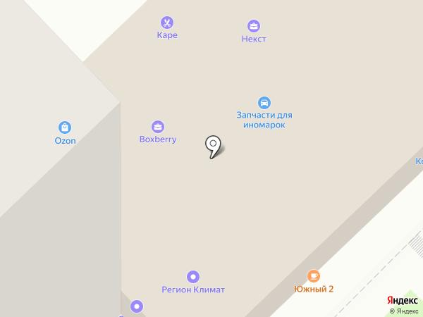Мини-кафе на карте Пензы