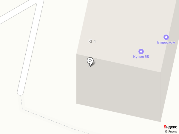 Моя аптека низких цен на карте Пензы