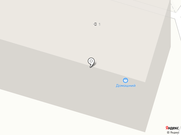 Домашний на карте Пензы