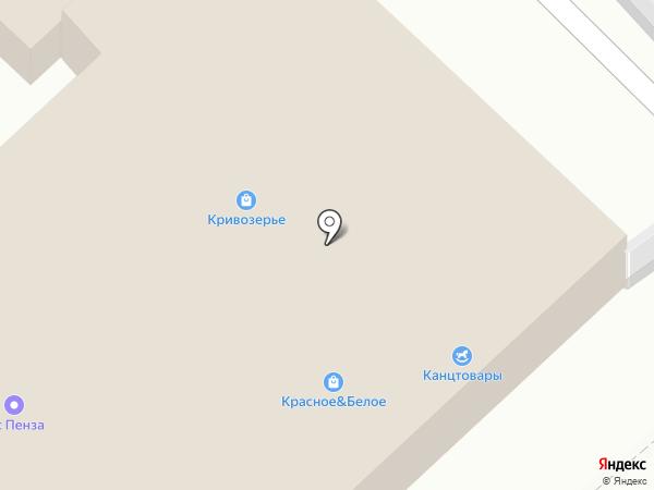 Боярин на карте Пензы