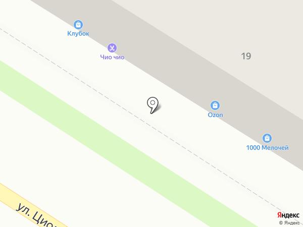 Швейное ателье на карте Пензы