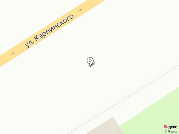 Пельменная лавка на карте Пензы