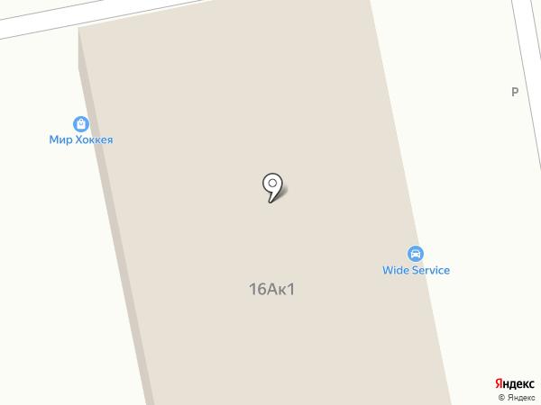 Вид Авто на карте Пензы
