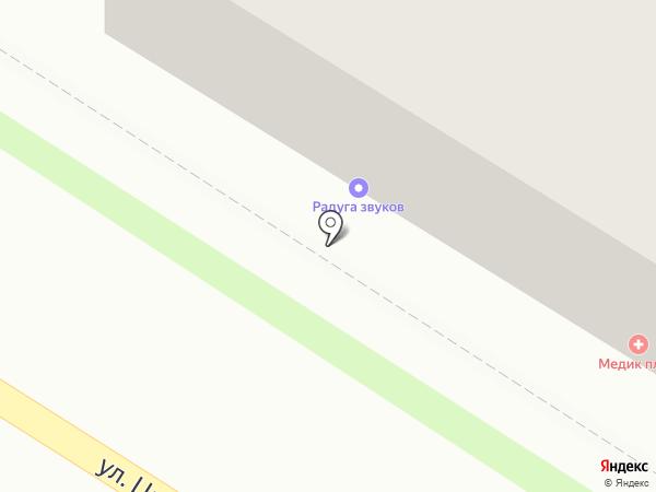 Альфия на карте Пензы