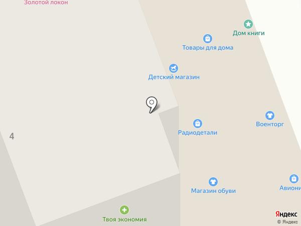 Магазин радиодеталей на карте Пензы