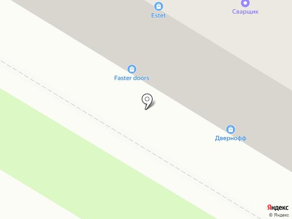 Дера на карте Пензы
