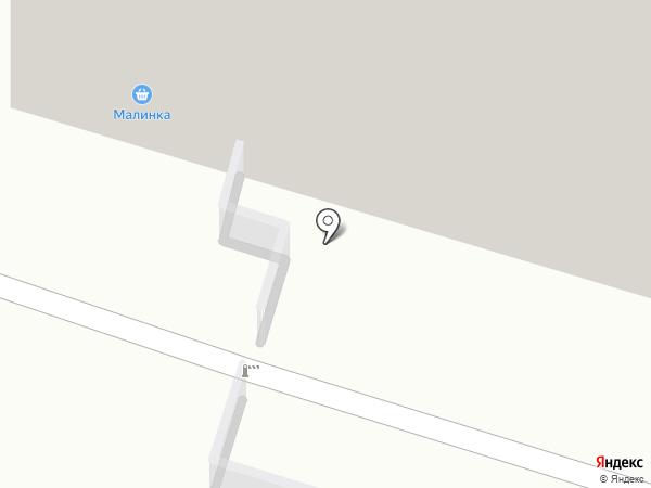 Дворик на карте Пензы
