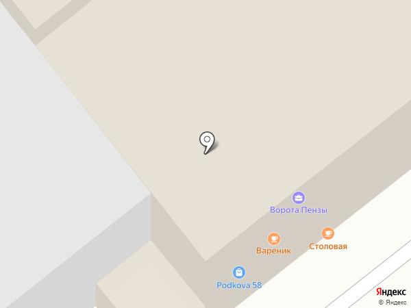 МБэль Дизайн на карте Пензы