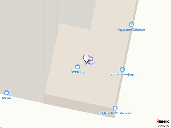 Просто двери на карте Пензы
