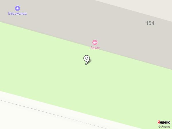 Сушишок на карте Пензы