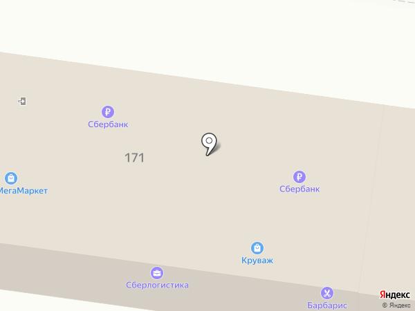 Круваж на карте Пензы