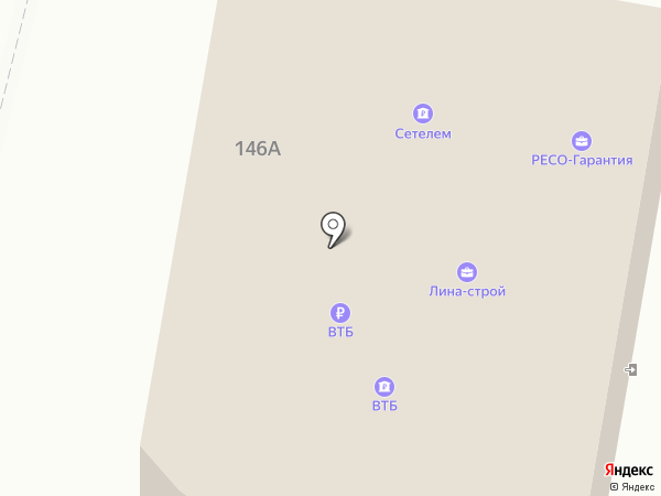 ПРОФКОМФОРТ на карте Пензы