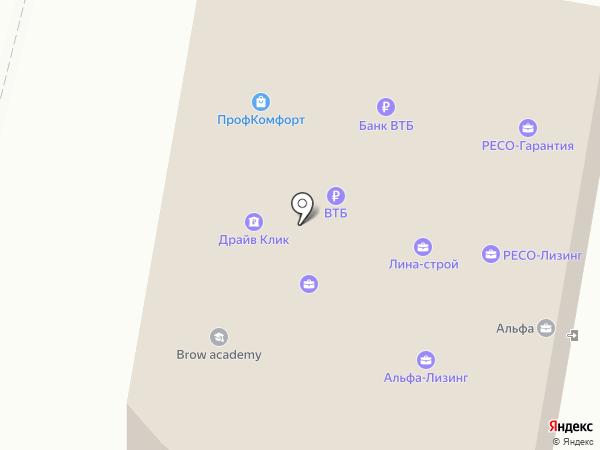 Сетелем Банк на карте Пензы