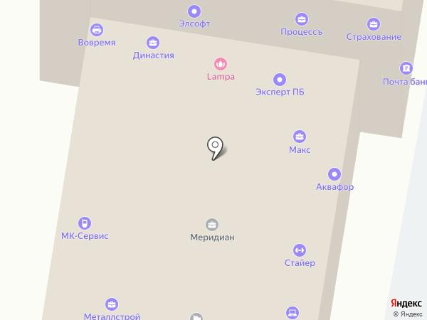Маяцкая С.В. на карте Пензы