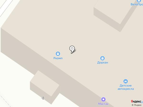 ВелоПрофи на карте Пензы