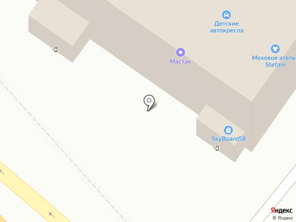 Хищник на карте Пензы