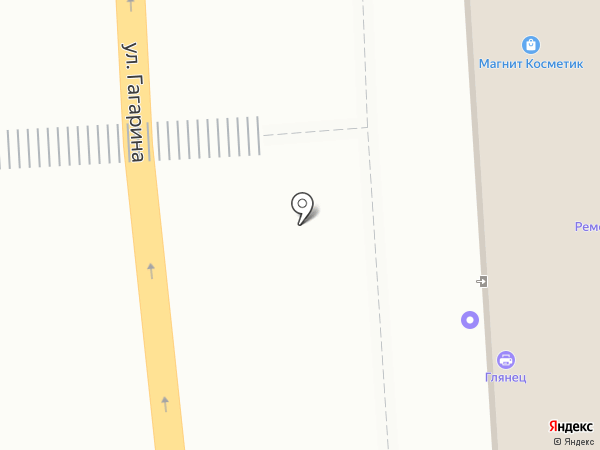 Заря на карте Пензы