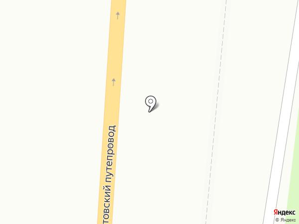 Под мостом на карте Пензы