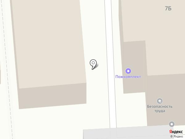 Гагаринские бани на карте Пензы