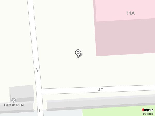 Путь на карте Пензы