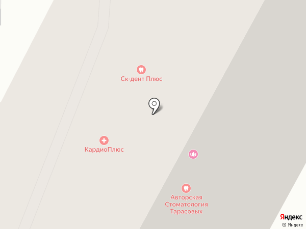 Продуктовый магазин на Тамбовской на карте Пензы
