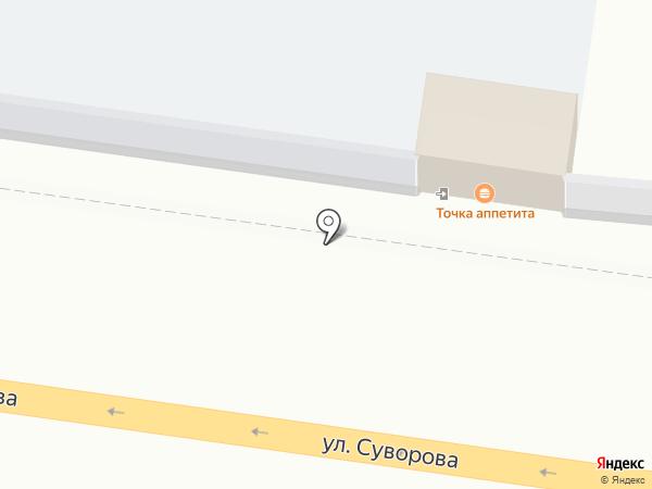 Точка аппетита на карте Пензы