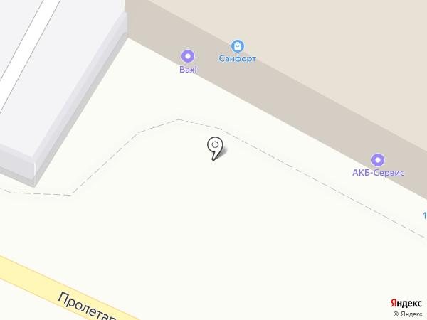 АКБ Сервис на карте Пензы