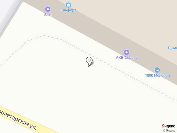 Санфорт на карте Пензы