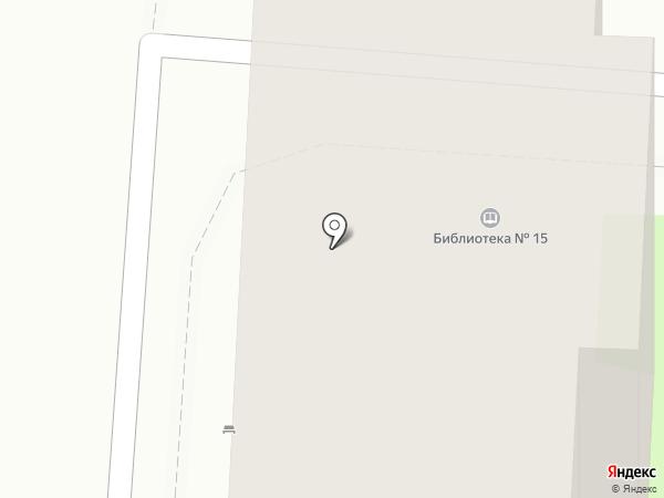 Городская библиотека №15 на карте Пензы