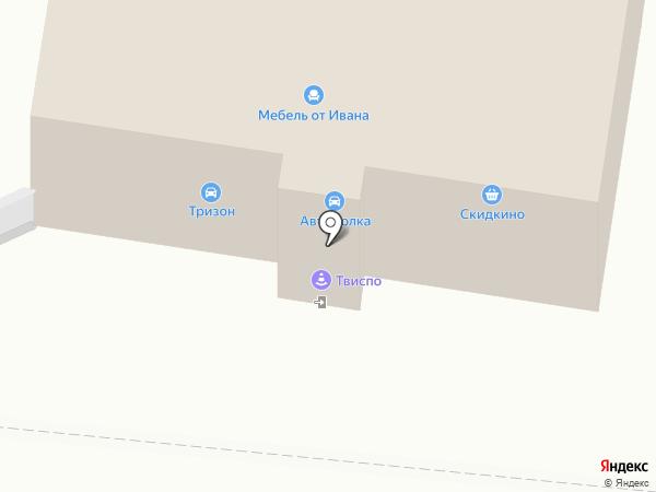 КВМ на карте Пензы