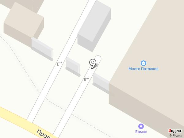 Ермак на карте Пензы