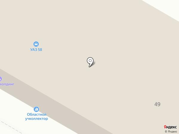 Пензенский областной учколлектор на карте Пензы