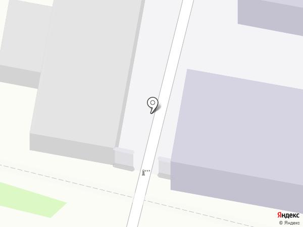 Пензенский казачий институт технологий на карте Пензы