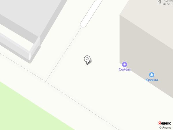 Новая на карте Пензы