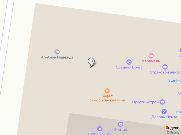 StarFight на карте Пензы