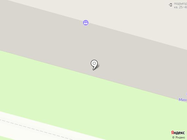 Салон-парикмахерская на карте Пензы