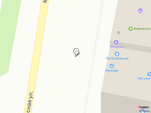 Центр широкоформатной печати на карте Пензы
