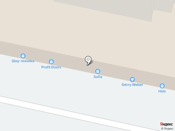 Дом Мод на карте Пензы