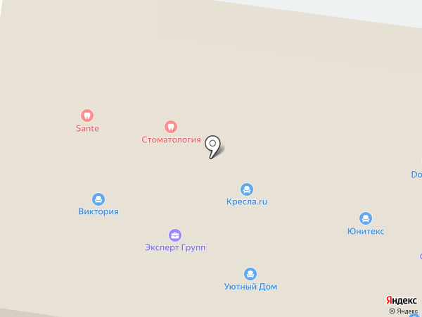 Мебель для Вас на карте Пензы