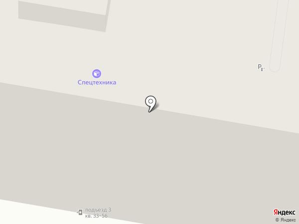 Спецтехника на карте Пензы