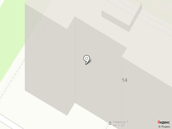 Дизалика на карте Пензы