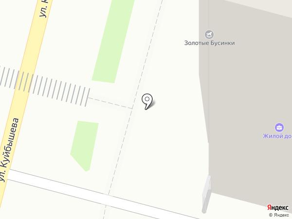 Ревьера на карте Пензы