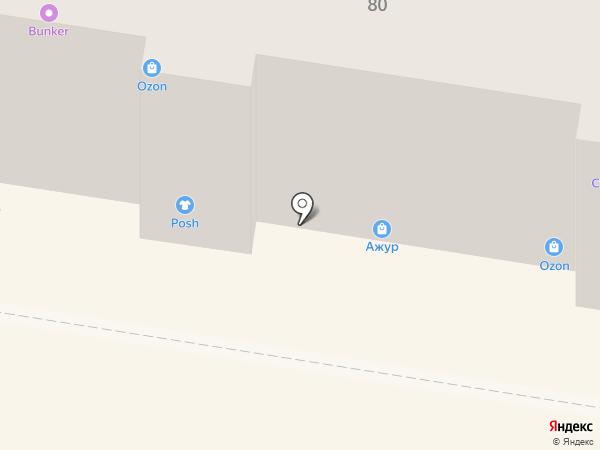 Ажур на карте Пензы