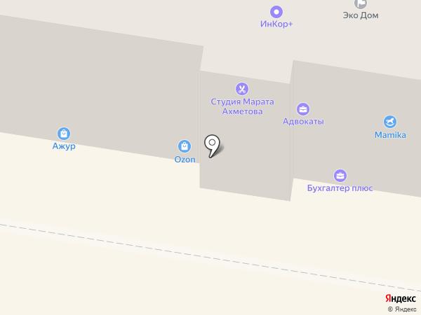 Адвокатский кабинет Симаковой Л.С. на карте Пензы