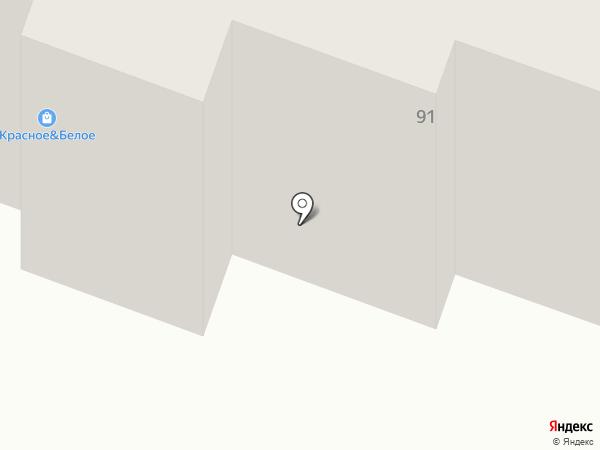 Продовольственный магазин на карте Пензы