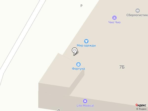 Магазин игрушек на ул. Луначарского на карте Пензы